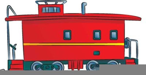 cartoon train caboose  images  clkercom vector clip art  royalty  public
