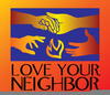 Love Your Neighbor As Yourself Clipart Image
