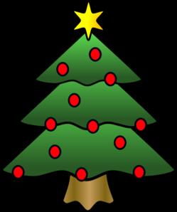 foto de Christmas Tree Clip Art at Clker com vector clip art