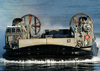 A Landing Craft Air Cushion (lcac) Craft On Approach To The Amphibious Assault Ship Uss Kearsarge (lhd 3) Image