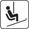 Chairlift Image Clip Art
