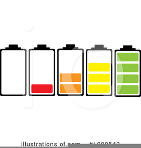 Clipart Of Batteries Image