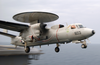 E-2c Hawkeye Launches From Uss Kitty Hawk Cv 63 Image