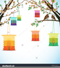 Chinese Lantern Festival Clipart Image