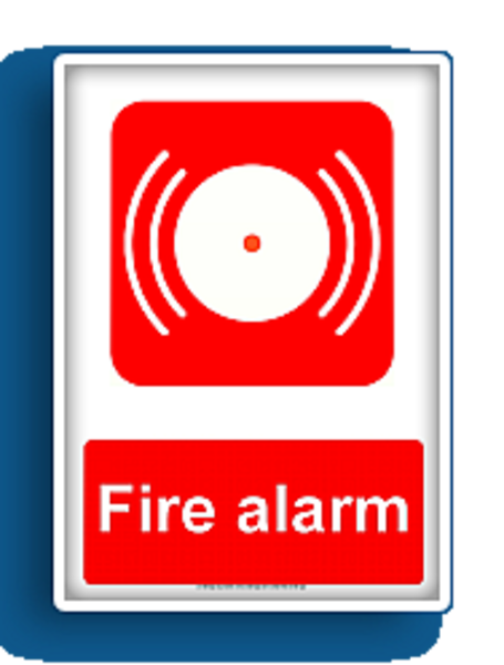 Fire Alarm Fire Equipment Sign Free Images At Clker Com