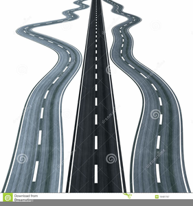 Winding Road Clipart Free Image