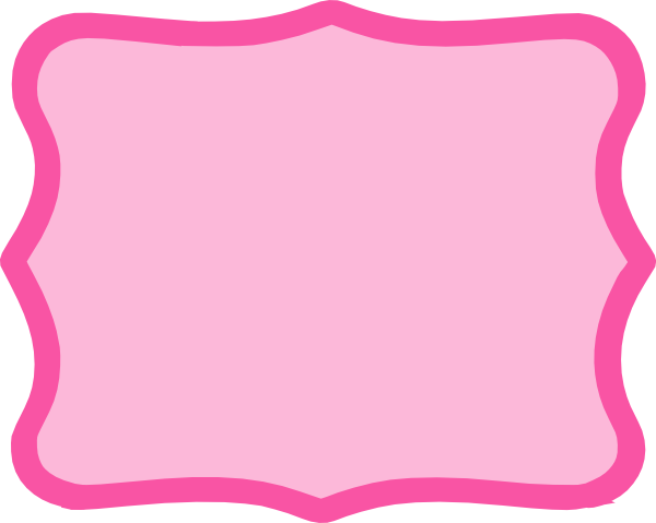 Hot Pink Frame Clip Art at Clker.com - vector clip art ...