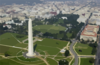 Aerial View Of The Washington Monument Clip Art