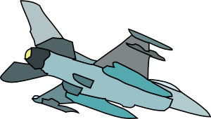 Military Fighter Plane Clip Art