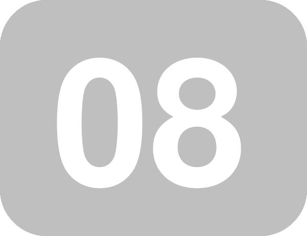 Numbers-08 Clip Art at Clker.com - vector clip art online, royalty ...
