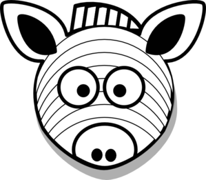 Zebra Clip Art At Clker Com Vector Clip Art Online
