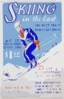 Skiing In The East The Best Trails And How To Get There : A Guide For Winter Sport Fans : Describing Over 1000 Trails In 216 Localities. Clip Art