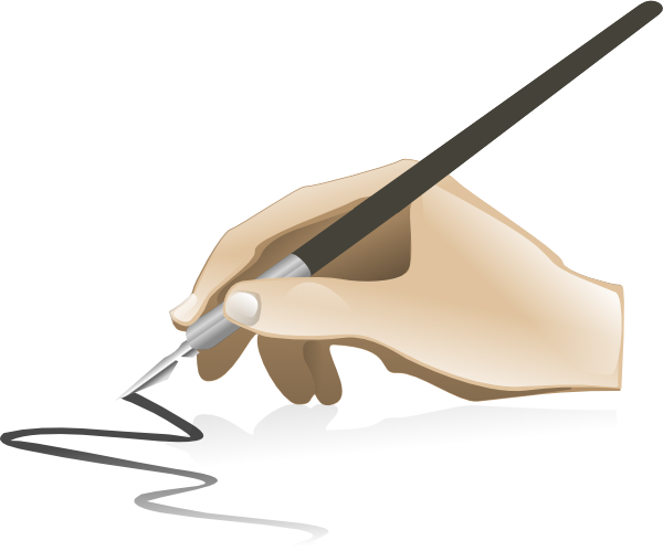 Drawing Hand Clip Art At Clker.com