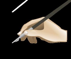 Drawing Hand Clip Art at Clker.com - vector clip art ...