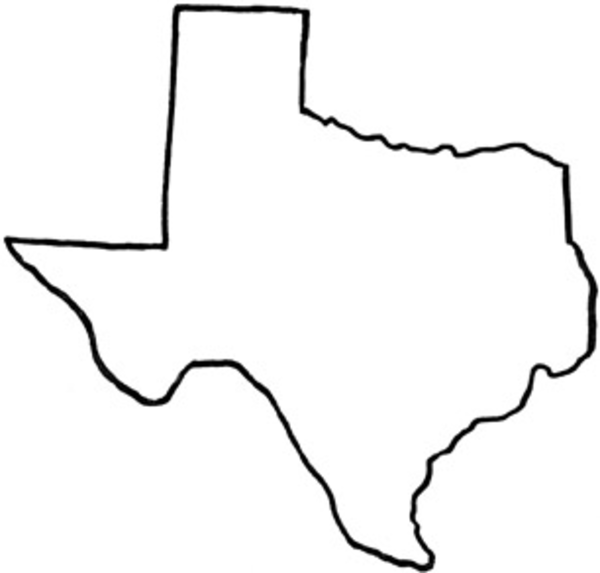 Texas free images at vector clip art online for State of texas symbols coloring pages