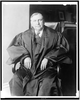 Former Attorney General Harlan F. Stone Photographed In His Robes In The Office Of The Supreme Court Of The United States Today Image
