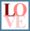 Blue And Pink Love Icon Image
