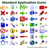 Standard Application Icons Image