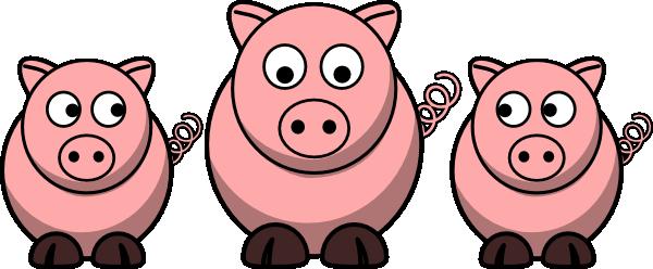 3 pigs clip art at clker com vector clip art online three little pigs clip art single three little pigs clip art and borders