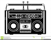 Tape Player Clipart Image