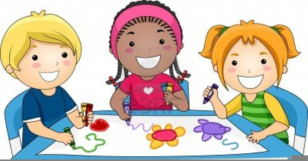Children Painting Clipart Free