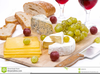 Bread And Wine Clipart Image
