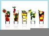 Cocktail Glasses Clipart Image