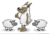 Wolf In Sheeps Clothing Clipart Image