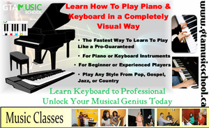 Learn Keyboard To Professional Music School Mississauga Image
