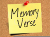 Memory Verse Clipart Image