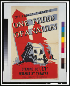 The Federal Theatre S  One Third Of A Nation   / Leon Carlin. Image