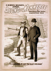 C.r. Reno S Successful Comedy, Along The Kennebec A New England Story Laughingly Told. Image