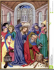 Jesus Teaching In The Temple Clipart Image