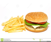 Free Clipart With Burgers And Fries Image