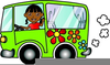 Daycare Van Clipart Image