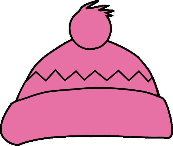 Pink Winter Hat Clip Art at Clker.com - vector clip art ...