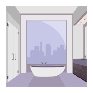 Apartment Bathroom Clip Art
