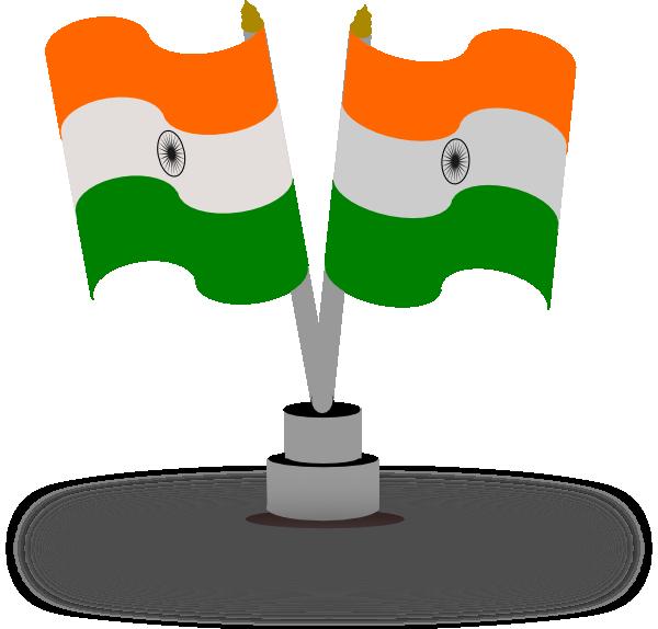 Indian Flag Clip Art At Clker.com