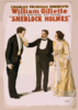 Charles Frohman Presents William Gillette In His New Four Act Drama, Sherlock Holmes Clip Art