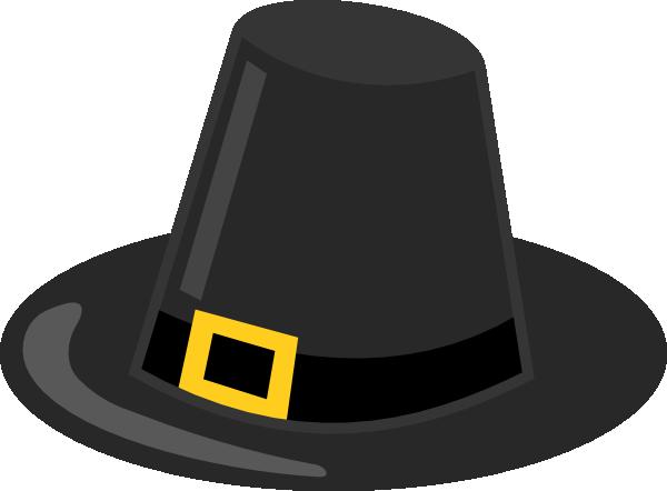 Pilgrim Hat With Black Band Clip Art At Clker Com