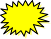Yellow Explosion Clip Art