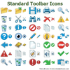Standard Toolbar Icons Image