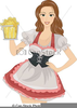 Beer Clipart Woman Image