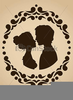 Loving Couple Clipart Image