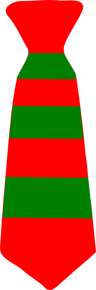 Christmas Neck Tie Striped Green And Red Clip Art at Clker ... Stripe Bow Tie Png