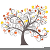 Fall Watermark Clipart Image