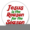 Jesus Is The Reason For The Season Clipart Image
