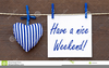 Have A Nice Weekend Clipart Image