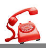 Cell Phone Ringing Clipart Image