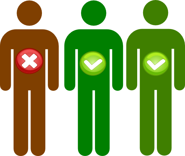 Eligible Person Icon Clip Art At Clker Com Vector Clip